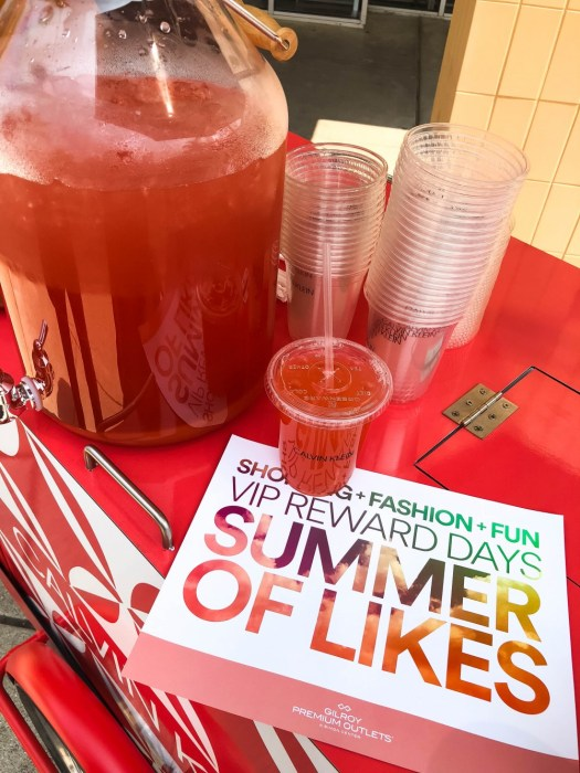 Gilroy Premium Outlets Summer of Likes VIP Shopping Event