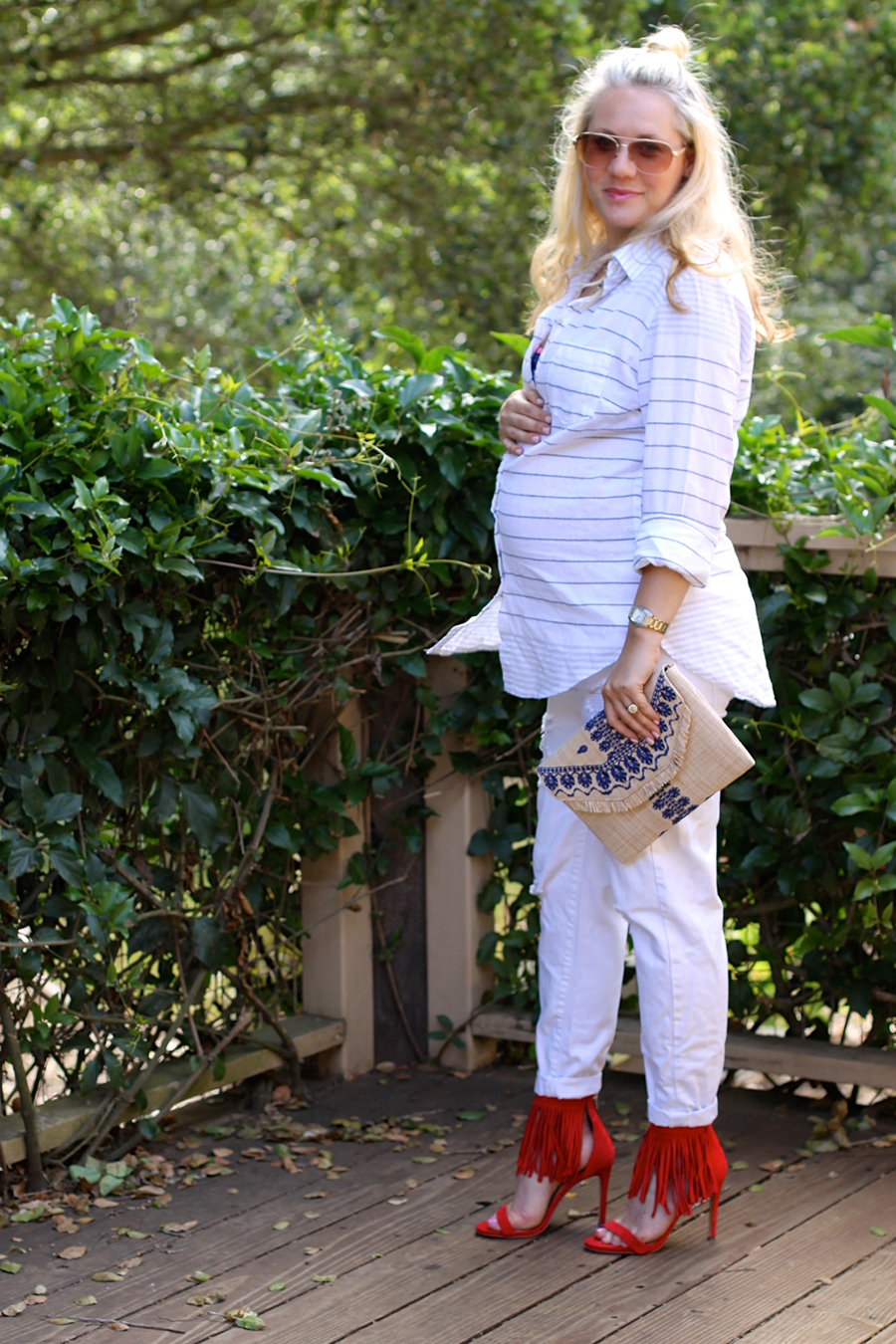 Target Style-Summer Trends-Maternity Style-Summer Style-Americana 9
