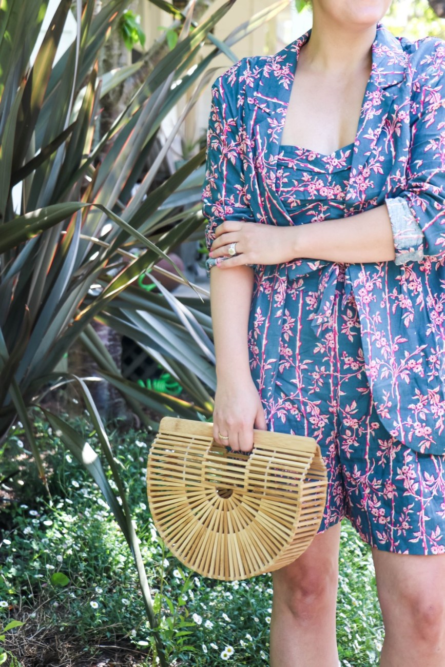 The cutest matching set you need this spring from Free People now on Have Need Want! Head to the blog to check out the full look + get my outfit details. Matching sets are so darling and are totally versatile. I'll be sharing next week multiple ways to break up a matching set to get the most out of your outfit! #styletips #matchingset #springoutfit #summerstyle #outfitinspo #threepieceset #freepeople