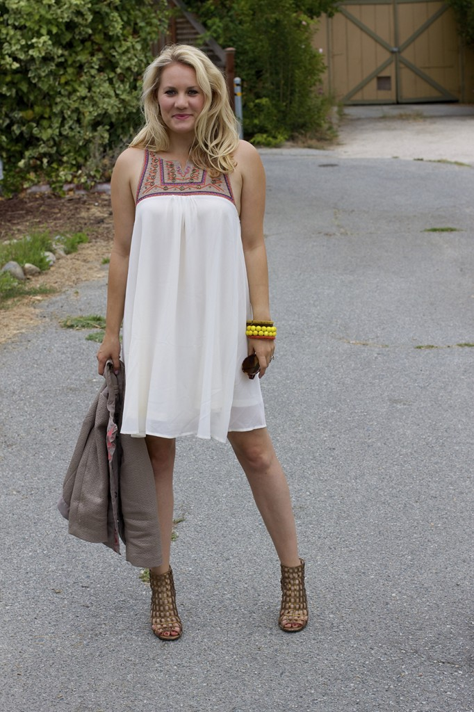 The Mint Julep Boutique Embellished Dress Flowy Dress Fashion Blogger Outfit Inspiration Summer Dress 10