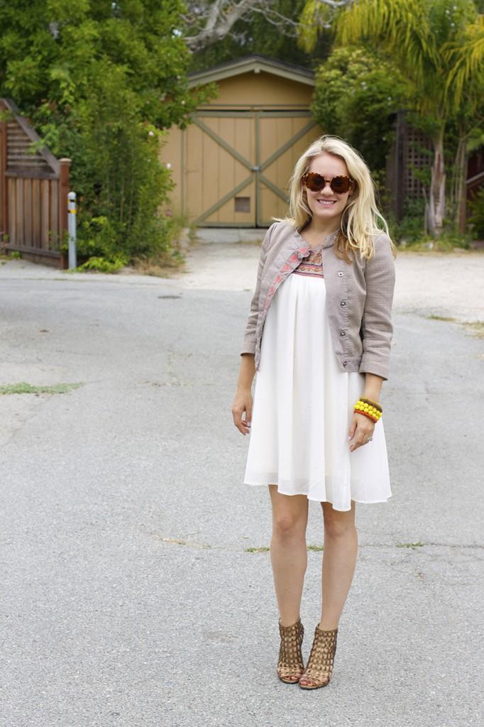 The Mint Julep Boutique Embellished Dress Flowy Dress Fashion Blogger Outfit Inspiration Summer Dress 6
