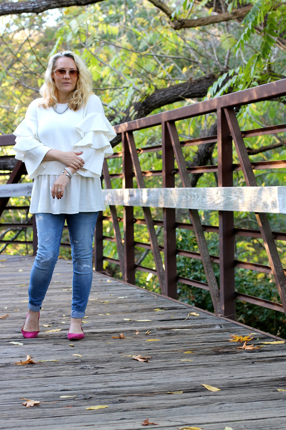 tiered-ruffle-sleeve-sweater-outfit-inspiration-fall-fashion-chicwish-sweater-have-need-want-11
