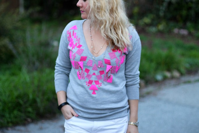 Trina Turk Sweater-Valentines Day Outfit Inspiration-Casual Style-Fashion Blogger-Bay Area Blogger-Valentines Day Outfit 4