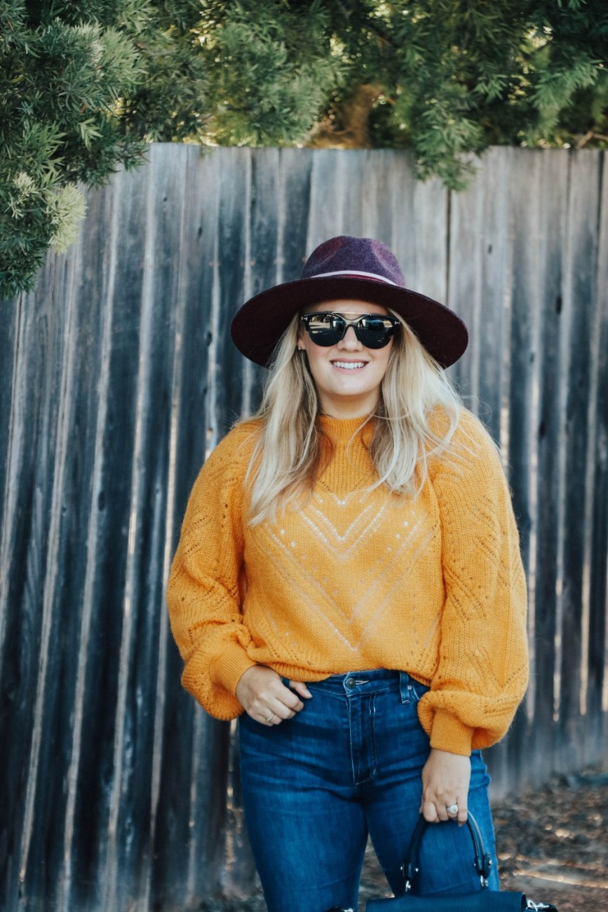 Sharing two ways to wear a lightweight sweater for summer and fall on Have Need Want! Click on over to the post to see my tips and how I styled it both ways! #fallfashion #fallsweater #fallcolors #fallfashion2020 #cutefalloutfits #autumnoutfits