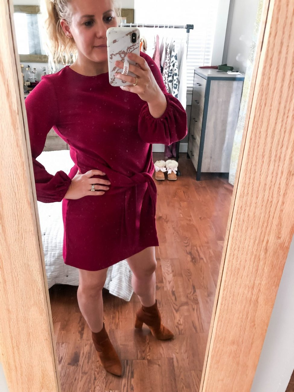 Amazon Fashion Fall Try On Haul including honest opinion in fit, price, and quality of each of the pieces. Click on over to the post to see what I thought about my haul and if it was a win or a bust and why! #fallfashion #amazonfashion #tryonsession #fallfashionhaul