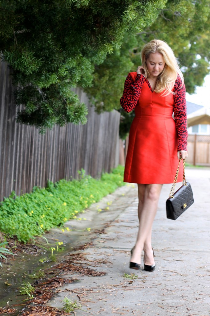 valentines-day-date-night-outfit-have-need-want-valentines-day-hearts-and-bows-kate-spade-dress-equipment-blouse-outfit-inspiration-5