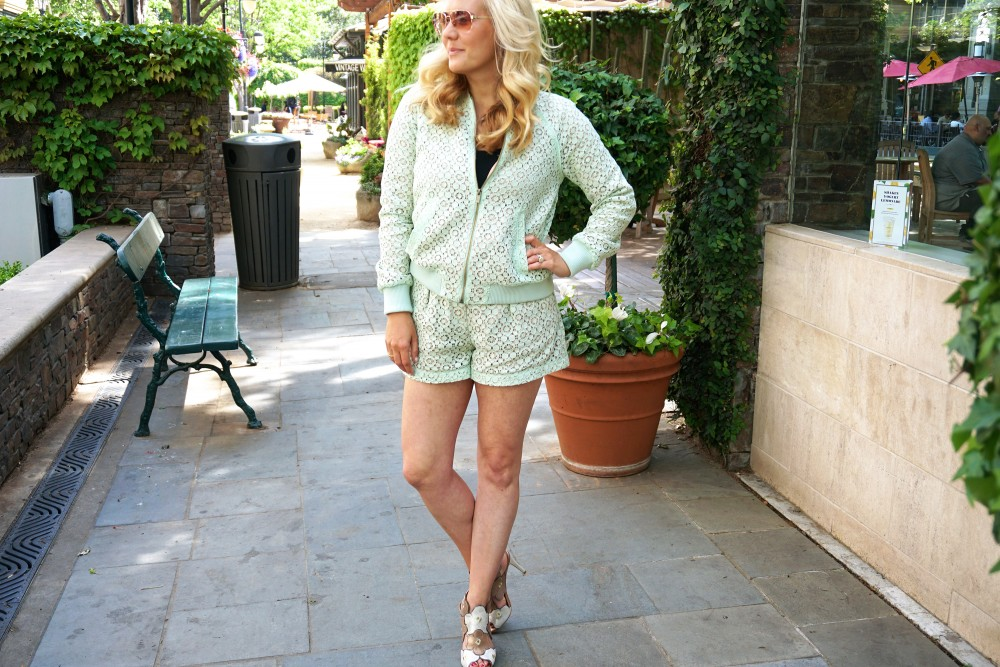 Victoria Beckham for Target-Donald J Pliner Heels-Art of Fun-Mint Green Lace-Outfit Inspiration-Spring Style-Mom Style-Have Need Want 2