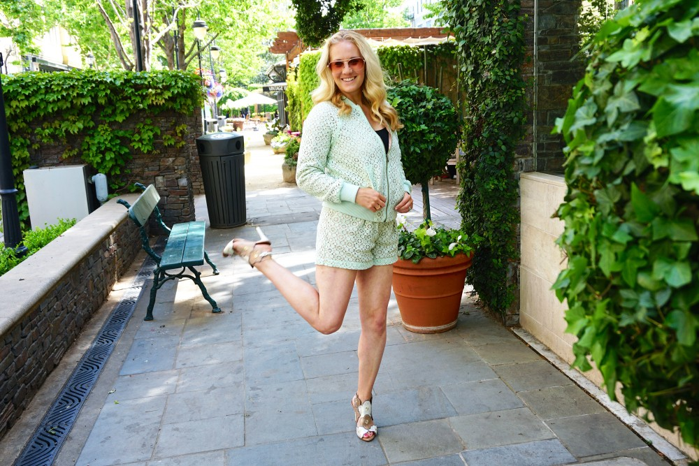 Victoria Beckham for Target-Donald J Pliner Heels-Art of Fun-Mint Green Lace-Outfit Inspiration-Spring Style-Mom Style-Have Need Want