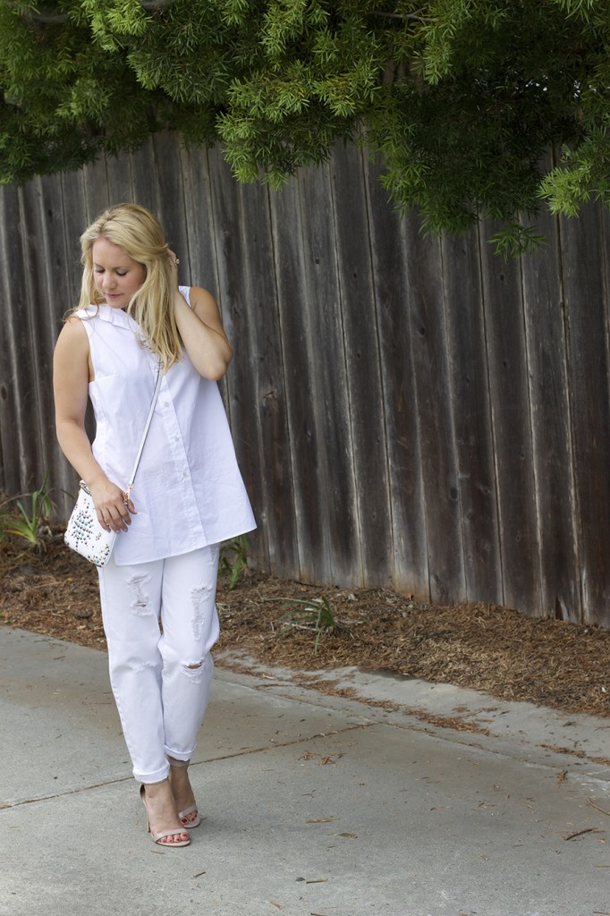 White on White Les Mechantes Summer Style Outfit Ideas ACE Target Style Fashion Blogger 11