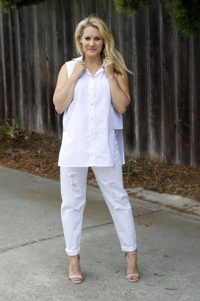 White on White Les Mechantes Summer Style Outfit Ideas ACE Target Style Fashion Blogger 13
