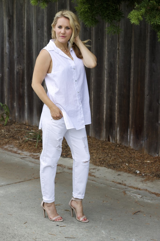 White on White Les Mechantes Summer Style Outfit Ideas ACE Target Style Fashion Blogger 5