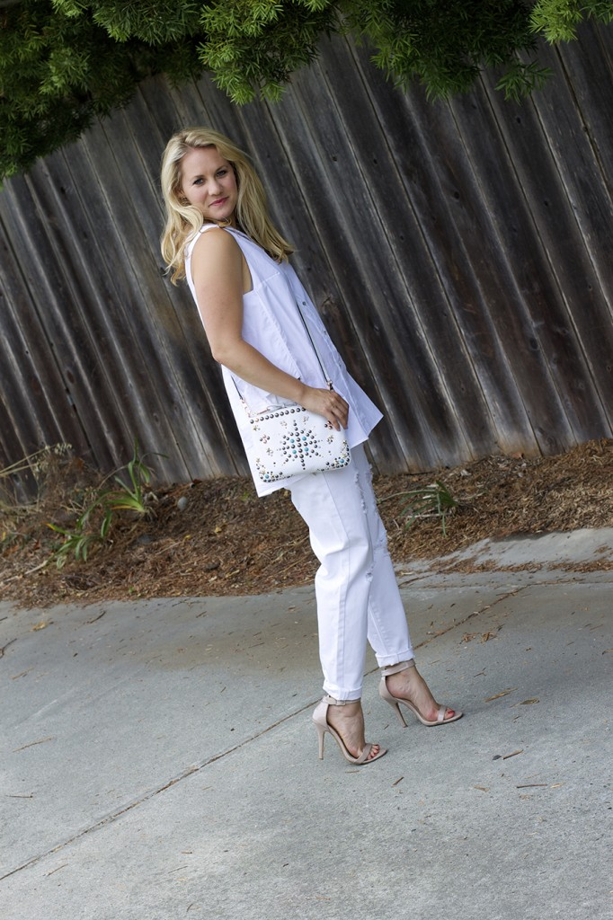 White on White Les Mechantes Summer Style Outfit Ideas ACE Target Style Fashion Blogger 8
