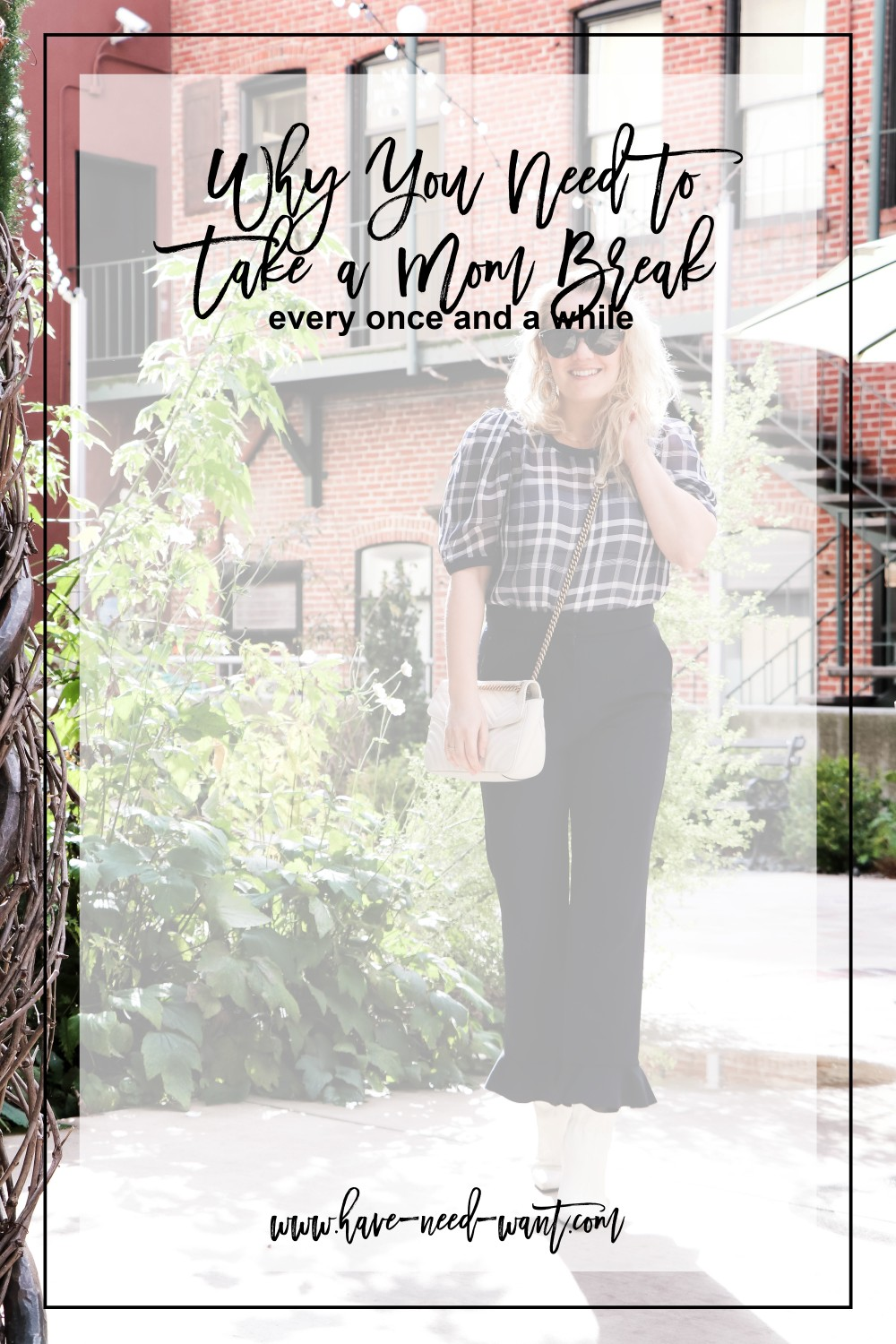 Talking about why it's important to take a mom break on Have Need Want today! Click on the photo to read the post! #mombreak #momstyle #targetstyle #targetanewday #express