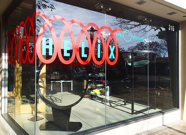 Helix, Los Altos, DTLA, Exploratorium, Eat Shop Do