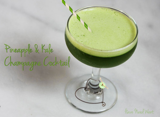 kale-champagne-cocktail