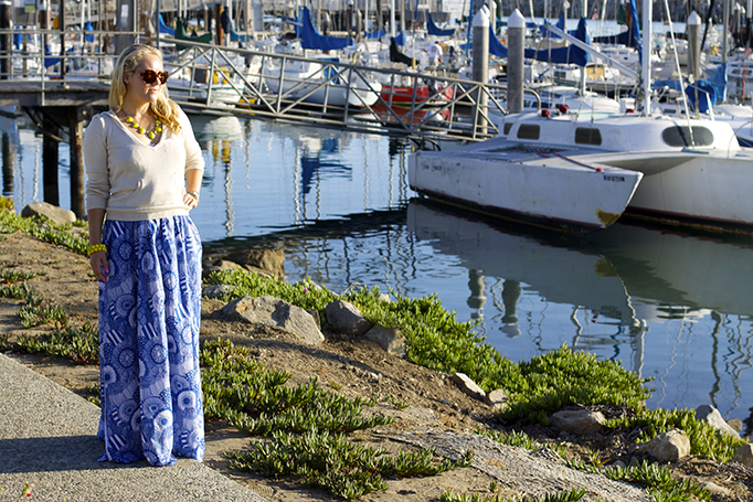 maxi dress three ways, style guide, banana republic, marimekko