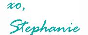 xo Stephanie