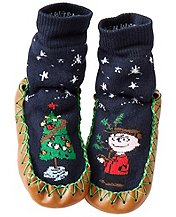 charlie brown tree slippers