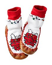 snoopy doghouse slippers