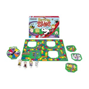 snoopy slides game