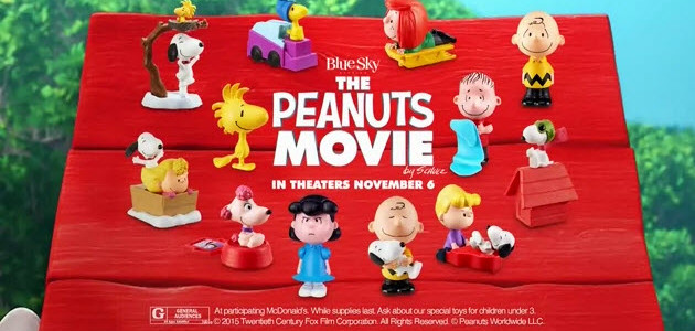 7e20621af0 Peanuts Happy Meal Toys at McDonalds – Have A Joyful Day