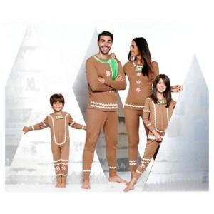 Target Gingerbread Jammies