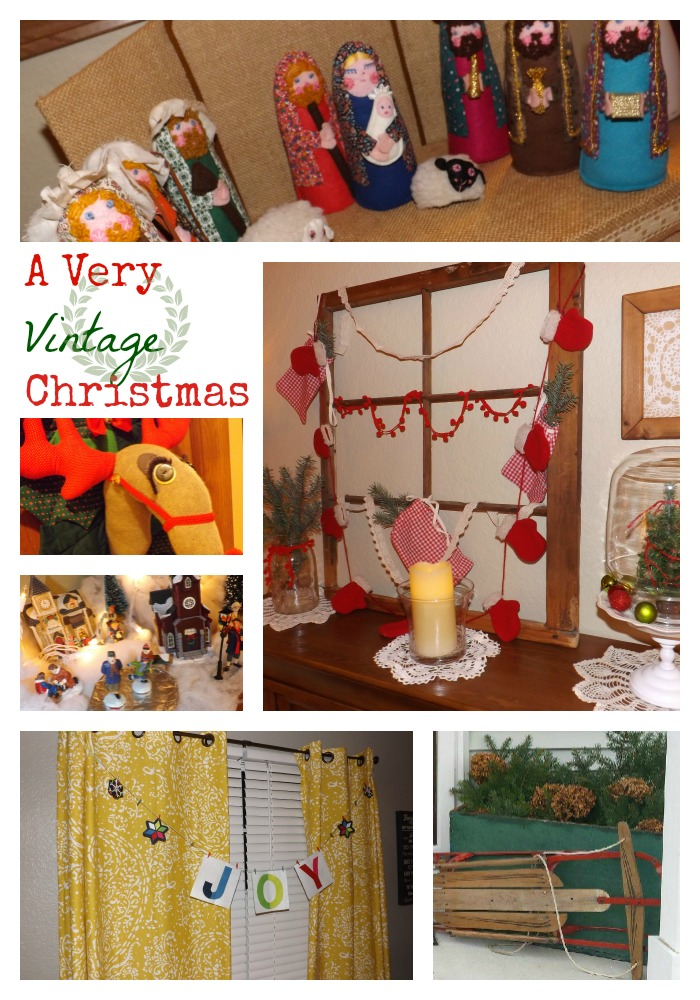 Decking the Halls! A Very Vintage Christmas
