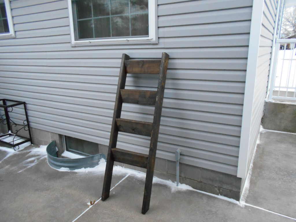 finished ladder