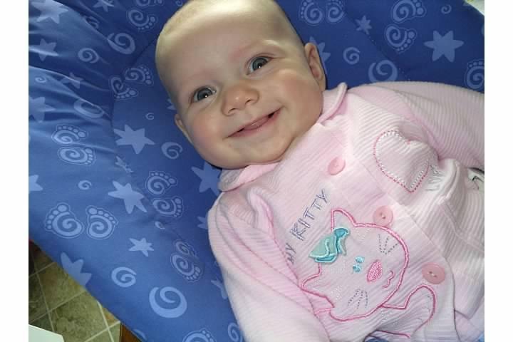 Sofia happy