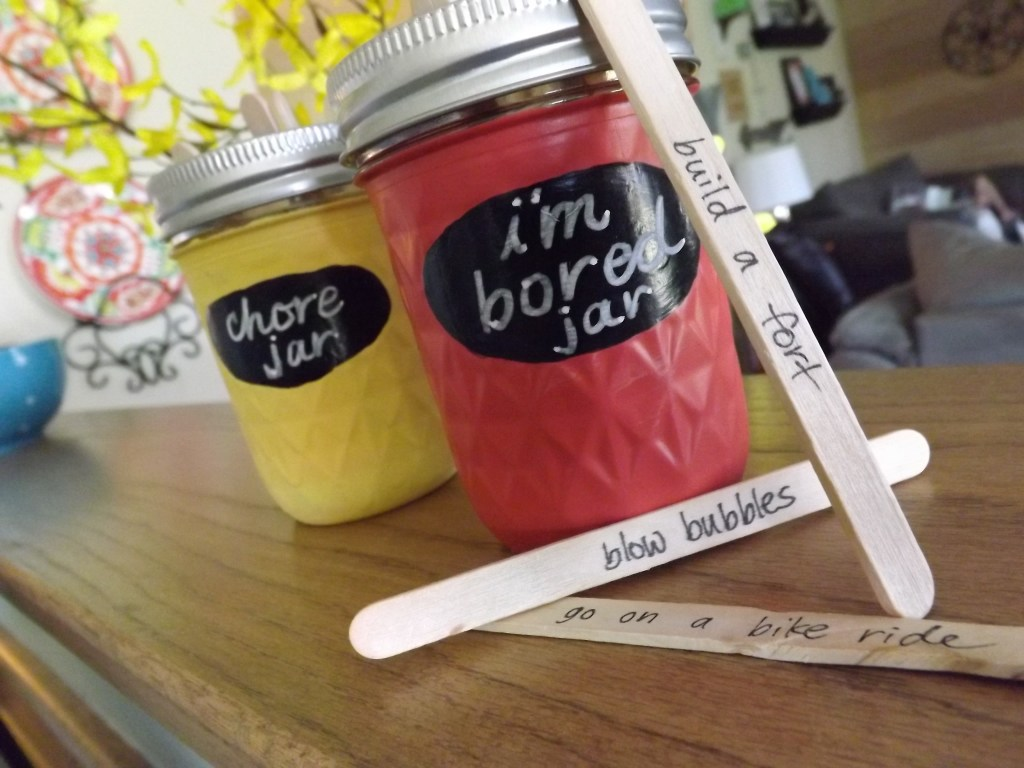 Chore_I'm Bored jars