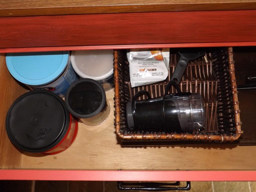 Middle Drawer coffee & good silverwear