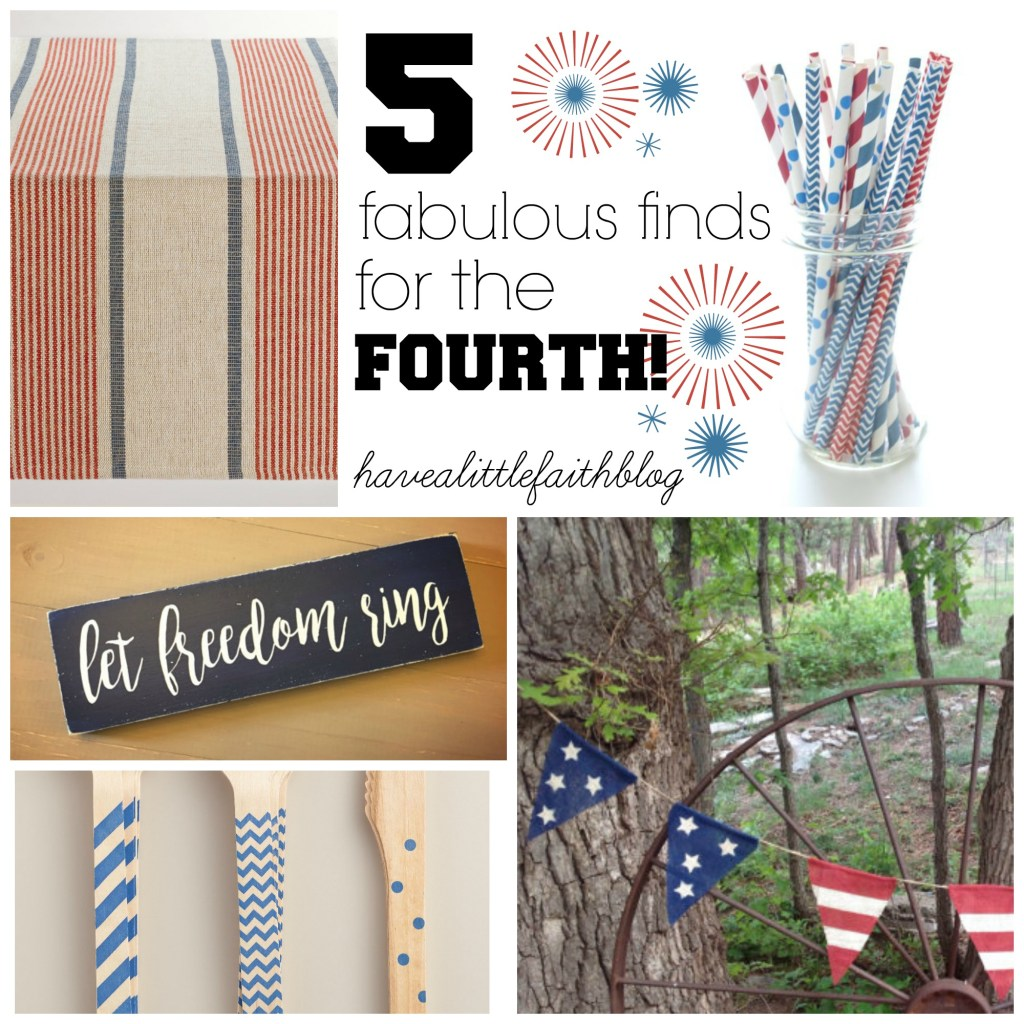 5 Fabulous Finds for the Fourth!