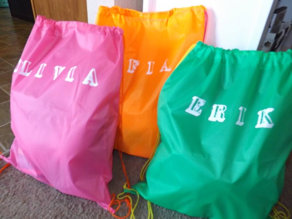 Finished Beach Bags