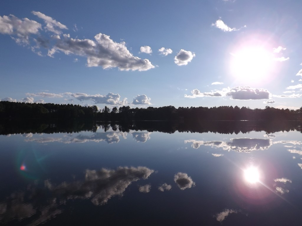 Clear skies in the Northwoods