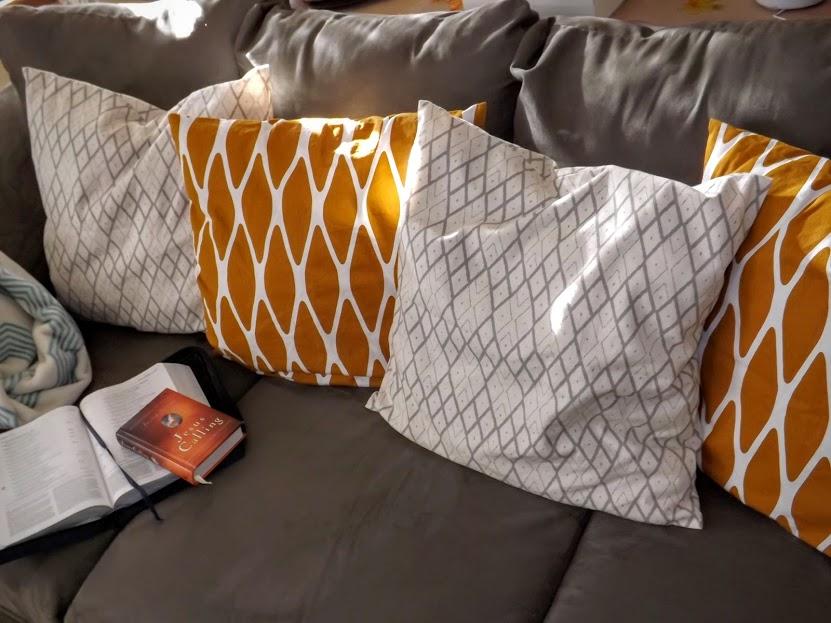 H&M Fall Pillows