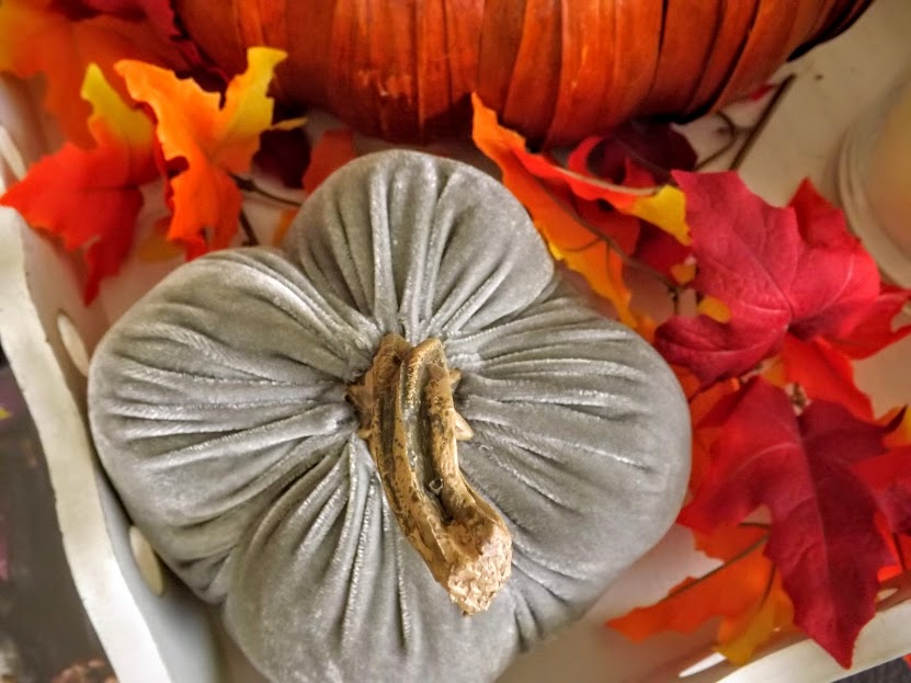 Fall Velvet Pumpkin