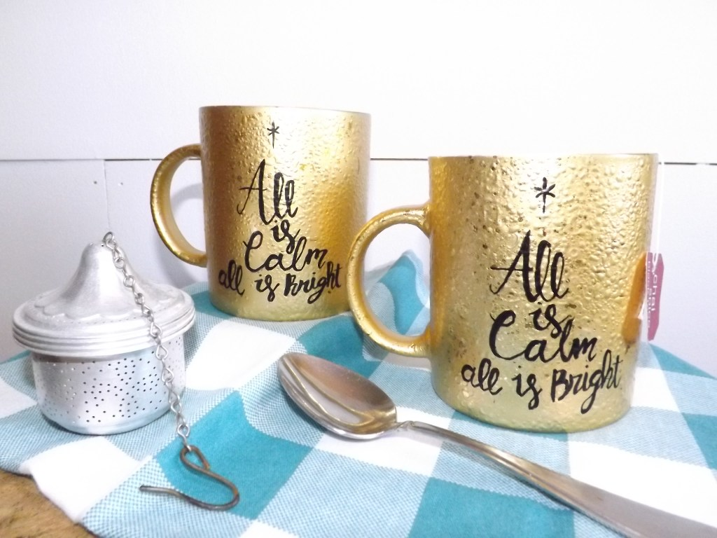 Have a Cup of Cheer + Hand Painted Mugs