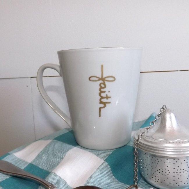 Faith Cross Mug