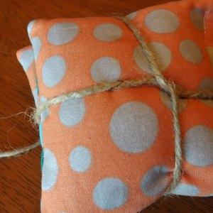 Polka Dot/Paisley Pocket Rice Hand Warmers