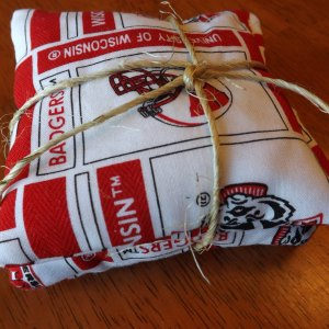 Wisconsin Badgers Pocket Rice Filled Hand Warmers