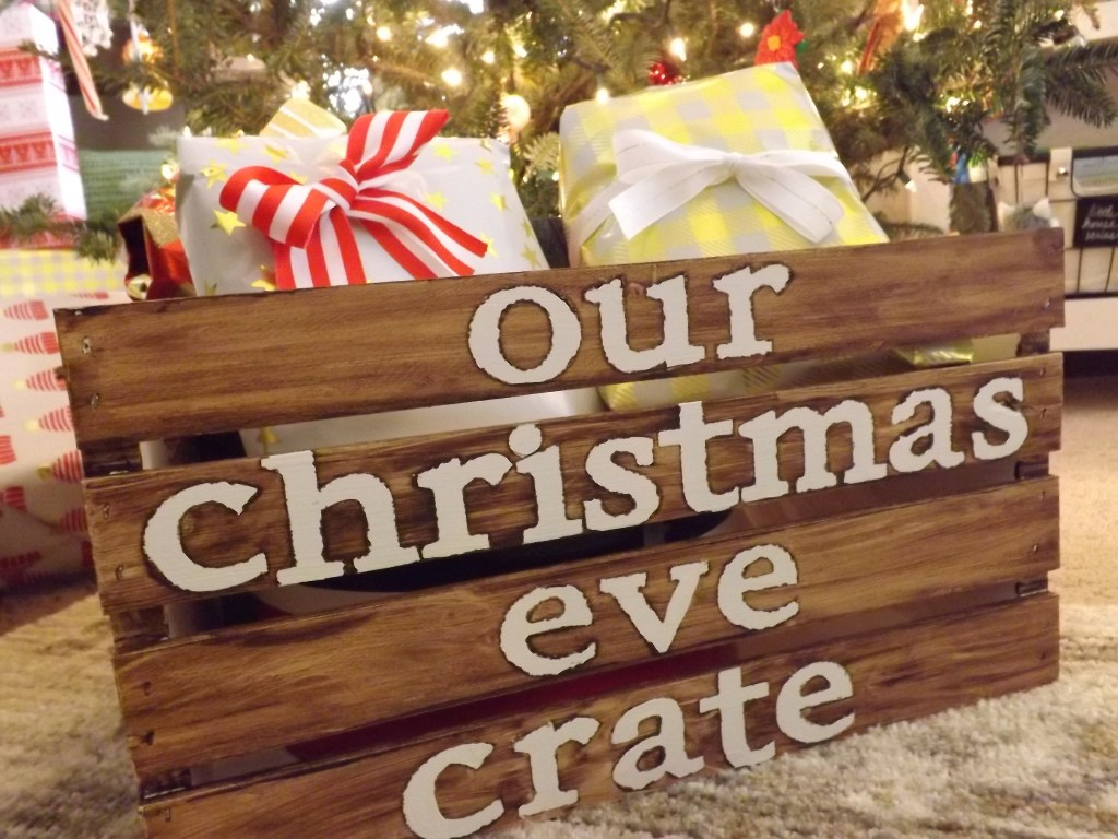 Rustic Christmas Eve Crate