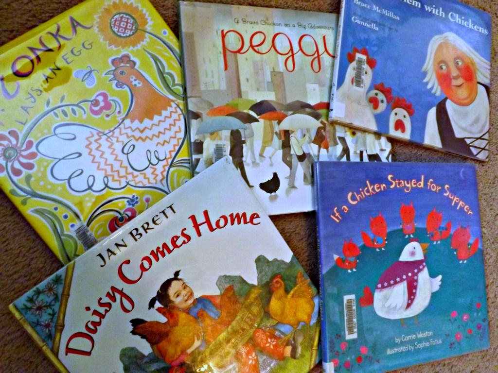 5 Great Children's Books About Chickens