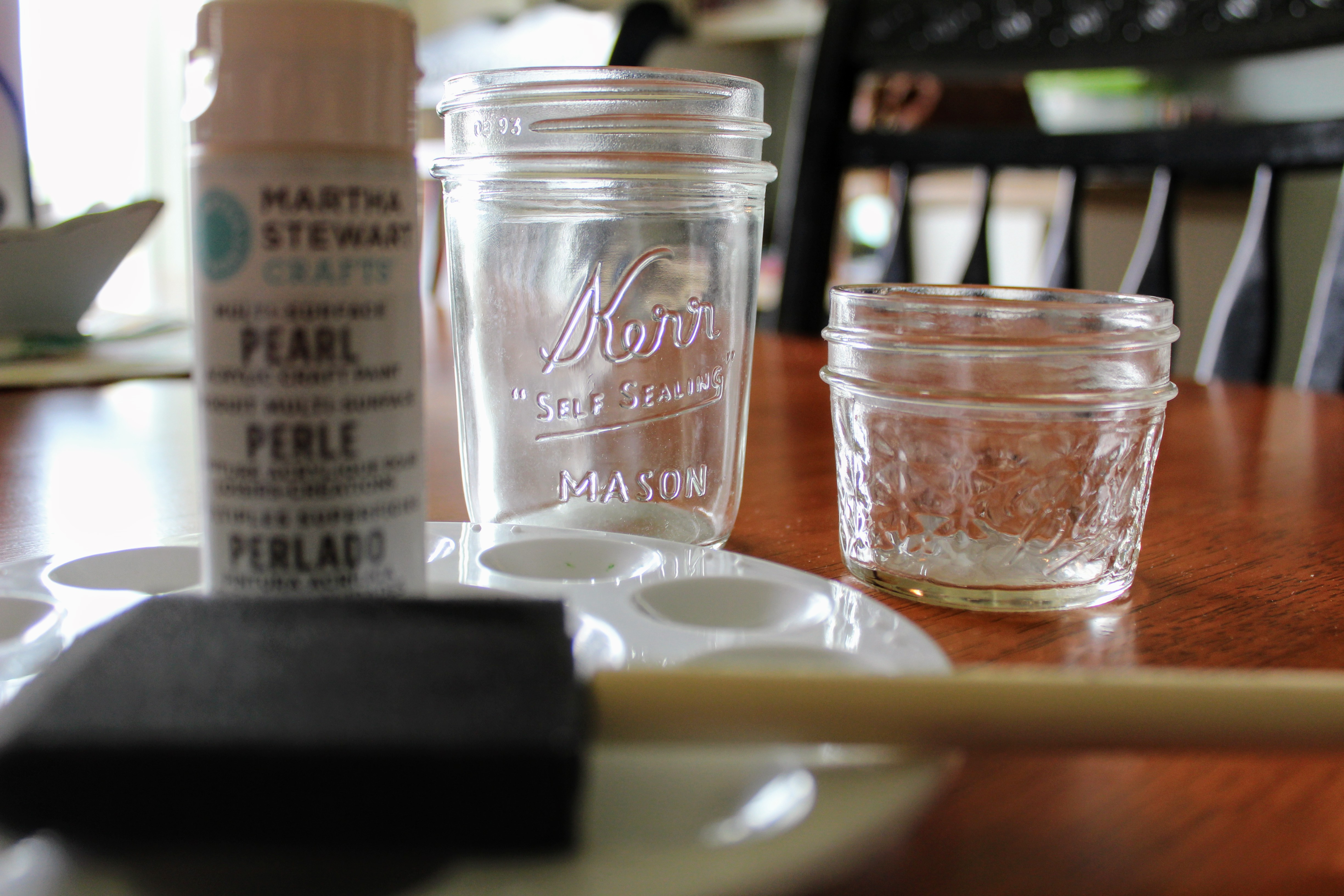 I Love Using This Martha Stewart Line Of Craft Paint. It Covers So Well And  This Particular Color, Mother Of Pearl, Has Just A Hint Of Iridescence To  Make ...