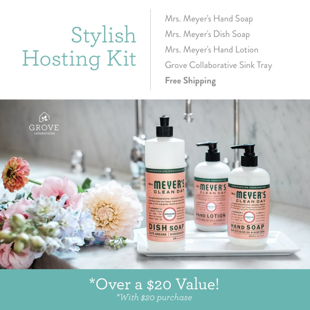 Stylish Summer Hostess Gifts FREE from Grove Collaborative