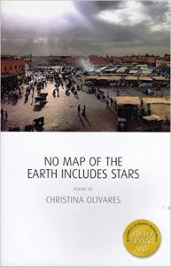 No Map of the Earth Includes Stars (Marsh Hawk Press, 2015).