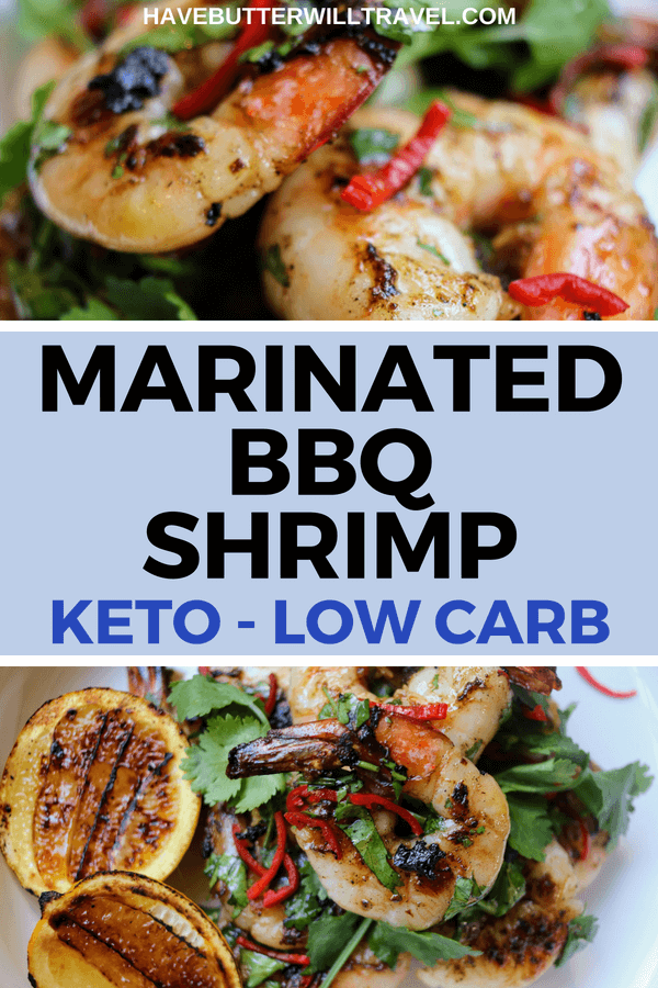 In summer the BBQ is a great cooking option and these keto shrimp are perfect for it. This meal is super delicious and super low carb, so it is a win win.