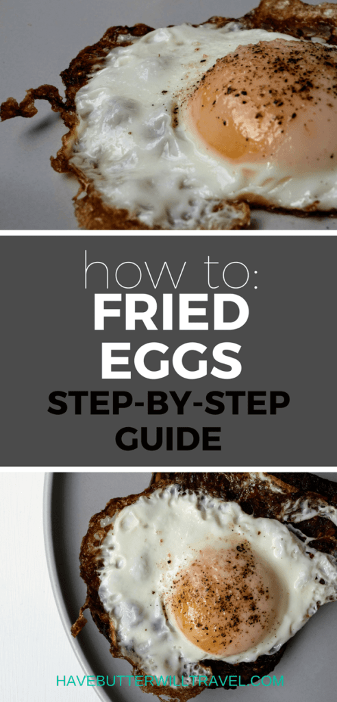 If you are yet to master a fried egg you need to learn how to fry eggs as they are a super quick and nutritious meal or even a great snack. Once you can fry a good egg you will be on your way to bigger and better things in the kitchen.