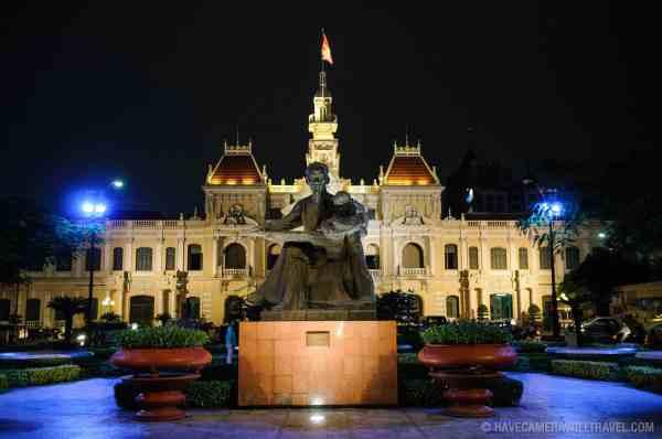 Ho Chi Minh City Hall Ho Chi Minh City Saigon Vietnam