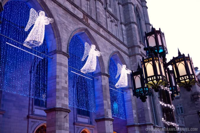 Old Montreals Notre Dame Basilica Montreal Canada