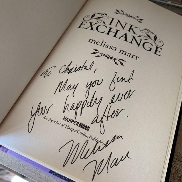 Ink Exchange Inscription
